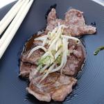 立食焼肉 一穂 - 国産牛ロース焼肉~トリュフ塩掛け~