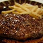 ピレネー - メイン:牛ロースステーキ