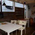 ペコリーノ・カフェ - テラス席