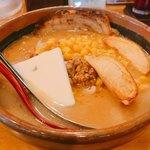麺場 田所商店 - 北海道味噌超バターラーメン