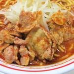 蒙古タンメン中本 - 豚バラ肉