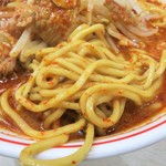 蒙古タンメン中本 - 麺