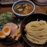 75190185 - 【2017/10】つけ麺(並)+三田盛り