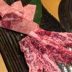 長崎和牛焼肉ぴゅあ - バラハラミ、牛タンアップ