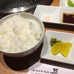長崎和牛焼肉ぴゅあ - ご飯