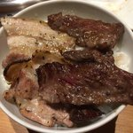 長崎和牛焼肉ぴゅあ - カリカリジュワ〜の肉