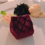 75191541 - 仙台牛のテンダーロイン。お値段15,400円。とても分厚い赤身の仙台牛。柔らかく味がしっかり。こわなにおいしい牛肉は初めてです。