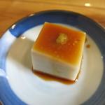 そばきり長助 - 先付 蕎麦豆腐