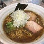 麺処 風人 - 極煮干し醤油そば 730円