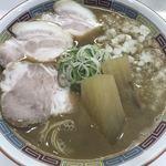 煮干鰮豚骨らーめん 嘉饌 - 料理写真: