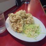 ラーメン藤 - 鶏の唐揚げ