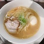 75197018 - 「煮玉子らーめん(しお)」(750円)です