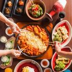 東道後のそらともり - 料理写真:チーズタッカルビ