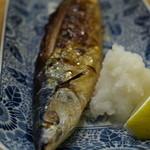 てばさき村 - 秋のサンマ。脂が乗って食欲をそそります。