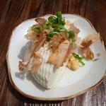 吉野山 豆富処 林とうふ店 - 2011-04-19ざる豆腐400円