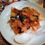バーミヤン  - 豚ニラ焼き肉ご飯