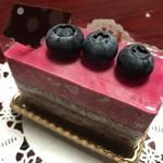 アンデュルジャン - 料理写真:カシスショコラ420円