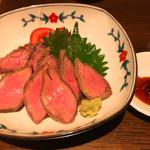 家庭料理 ひまわり - 牛さんオーダのローストビーフ(^_^)