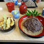 千本桜 - 田舎野菜天ぷらそば
