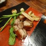 辺銀食堂 - 島豚のカリカリ焼