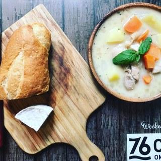 【平日限定76ランチ¥760♪】スープ・ドリンク付