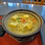 勝美屋 - 彩り野菜のカレー煮込み