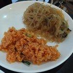 李さんの台所 - チャプチェ・キムチ炒飯