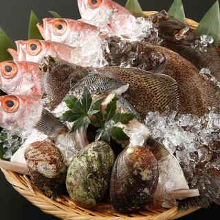無農薬野菜と獲れたて新鮮な海の幸