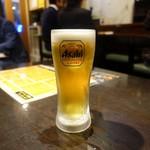 くう - 生ビール 480円