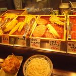 丸亀製麺 - 天ぷら①(2017.10.1)