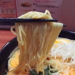 75208021 - 中細ストレート麺(2017年10月)