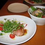 オランダ屋 - 前菜とサラダ