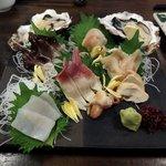 かいのみ - 貝刺し盛り六種(2,980円)