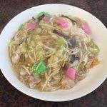 中華料理優 - 料理写真:皿うどん(揚げ麺)600円 これもハズレなし!