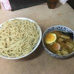 裏サブロン - つけ麺700円+麺大盛(440g)100円=800円