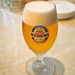 ピッツェリア ノヴァンタノーヴェ - イタリアのビール(メッシーナ)