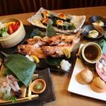 炉端 小次郎 - 脂がのった高級魚「きんき」の炭火焼きコース 2,500円