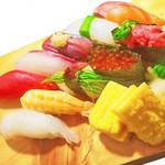 寿司酒場 スシイチ - 【寿司】本日の十貫