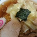 幸楽 - 料理写真:ワンタン麺