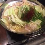 75215637 - 白モツ鍋