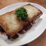 台南担仔麺 - 大根もち