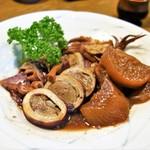 なか栄 - イカのぽっぽ煮