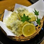 なか栄 - 牡蠣の天ぷら