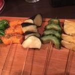 75216623 - 旬野菜のヘルシー串