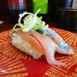 回転寿司 魚喜 - 料理写真:生さんま