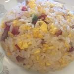 生味園 - セットの半炒飯
