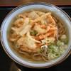春野家うどん - 料理写真:かき揚げそば@470