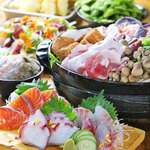 難波 豊丸 - 海鮮大漁コース4000円