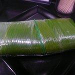 麺屋 丈六 - 料理写真:早寿司① ラップ&ゴム