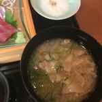 Shubouuoman - 豚汁☆★★☆(´∀`) すましから選択可